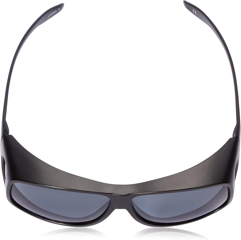Haven Fits Over Sunwear Classic Aspen Polarized Aviator Sunglasses