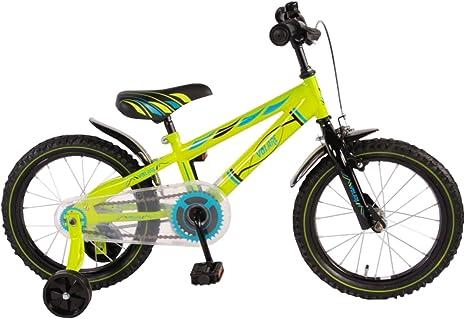 Bicicleta Niño de 16 pulgadas Ruedas Extraíbles Verde - 95 ...