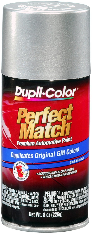 Dupli-Color BGM0530 Light Tarnished Silver Metallic General Motors Exact-Match Automotive Paint - 8 oz. Aerosol