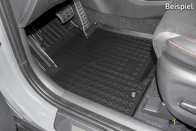 J J Automotive Allwetter Tpe Gummifußmatten Gummimatten Für Mercedes Glk X204 2008 2014 4tlg Auto
