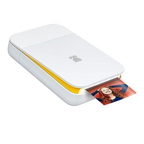 KODAK Smile Impresora digital instantánea – Mini impresora desplegable con Bluetooth para iOS y Android – Edite, imprima y comparta con la aplicación ...