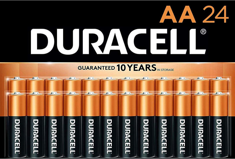 金霸王铜顶AA碱性电池