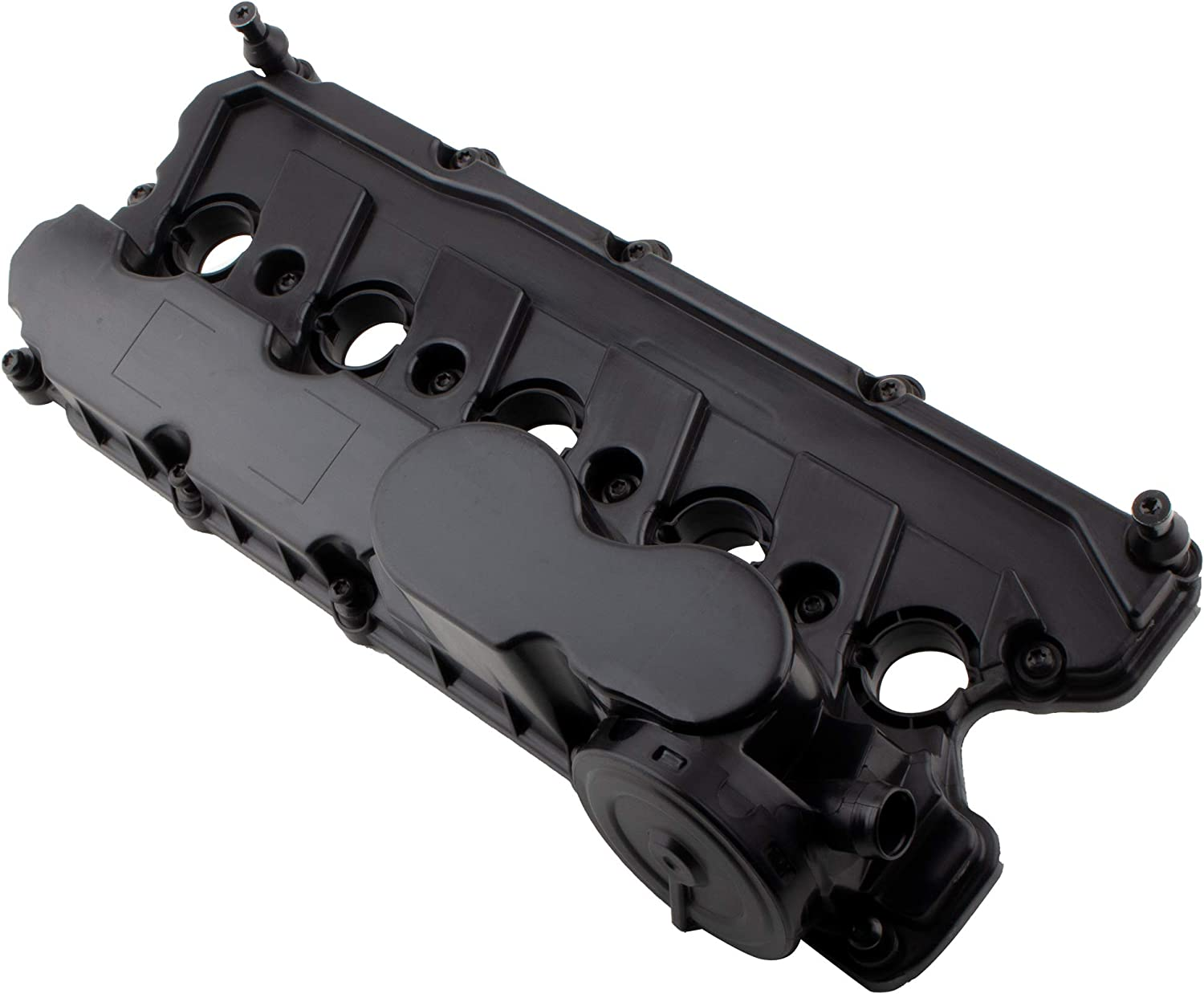BOXI Valve Cover with Gasket and Bolts for Volkswagen 2005-2014 Jetta / 2012-2014 Beetle / 2010-2014 Golf / 2006-2009 Rabbit / 2012-2014 Passat (ONLY for 2.5L L5 Engine) 07K103469L 07K103469F