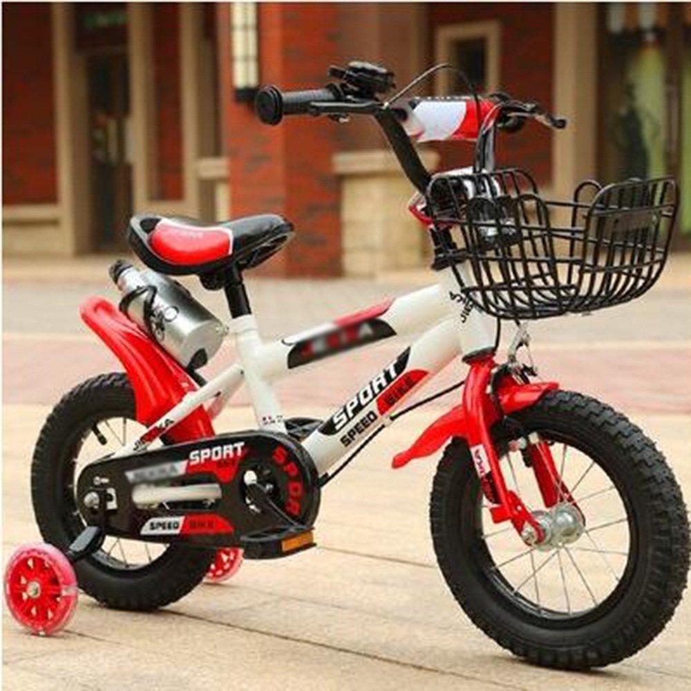 春夏新作 子ども用自転車 キッズバイク、男の子バイク inch B07FRR8P8G、ガールズバイク、スポーツバイク、12インチ Red、14インチ、16インチ、18インチ、レッドブルーオレンジ 少年少女の自転車 18 inch Red B07FRR8P8G, PRESEA:f210eef4 --- arianechie.dominiotemporario.com