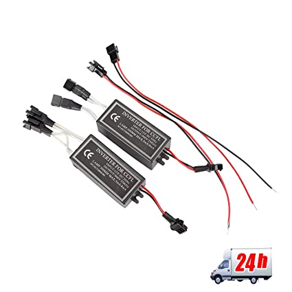 2X 4-outputs 12V Female CCFL Spare Inverter Ballast for Angel Eyes Halo  Rings From Madlife Garage