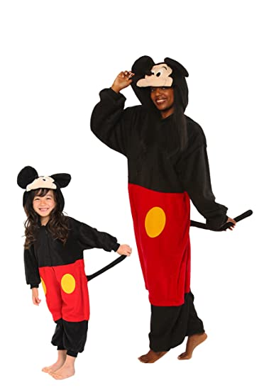 Mickey Mouse Kids Kigurumi (2-5 Years)  sc 1 st  Amazon.com & Amazon.com: SAZAC Mickey Mouse Kigurumi (All Ages Costume): Toys u0026 Games