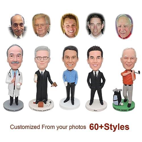 amazon com custom bobblehead doll from head to toe personalized