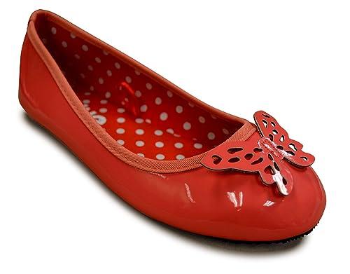 4db2fffb6c192 Girls Ballet Flats Slip On Shoes - Pretty Children's Shoes Little Girls  Toddler