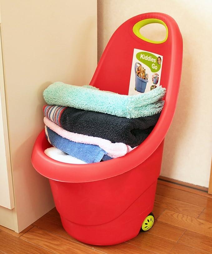 Keter Carrito Infantil Kiddie Go Rojo: 15l, rot Keter Gartenkarre Kiddie go für Kinder: Amazon.es: Jardín