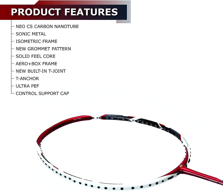 Yonex arcsaber 11 Badminton Raquette Métallique Rouge Racquet String volant 4UG5