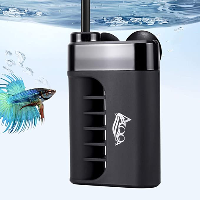 Aquarium Heater Submersible Fish Tank Water Heater Adjustable Temperature Thermostat for 15 30 Gallon Freshwater Saltwater Fish Betta Tanks 50W 100W with 2 Suction Cups