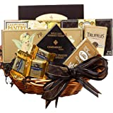 Art of Appreciation Gift Baskets With Heartfelt Sympathy Gift Basket, Medium (Chocolate)