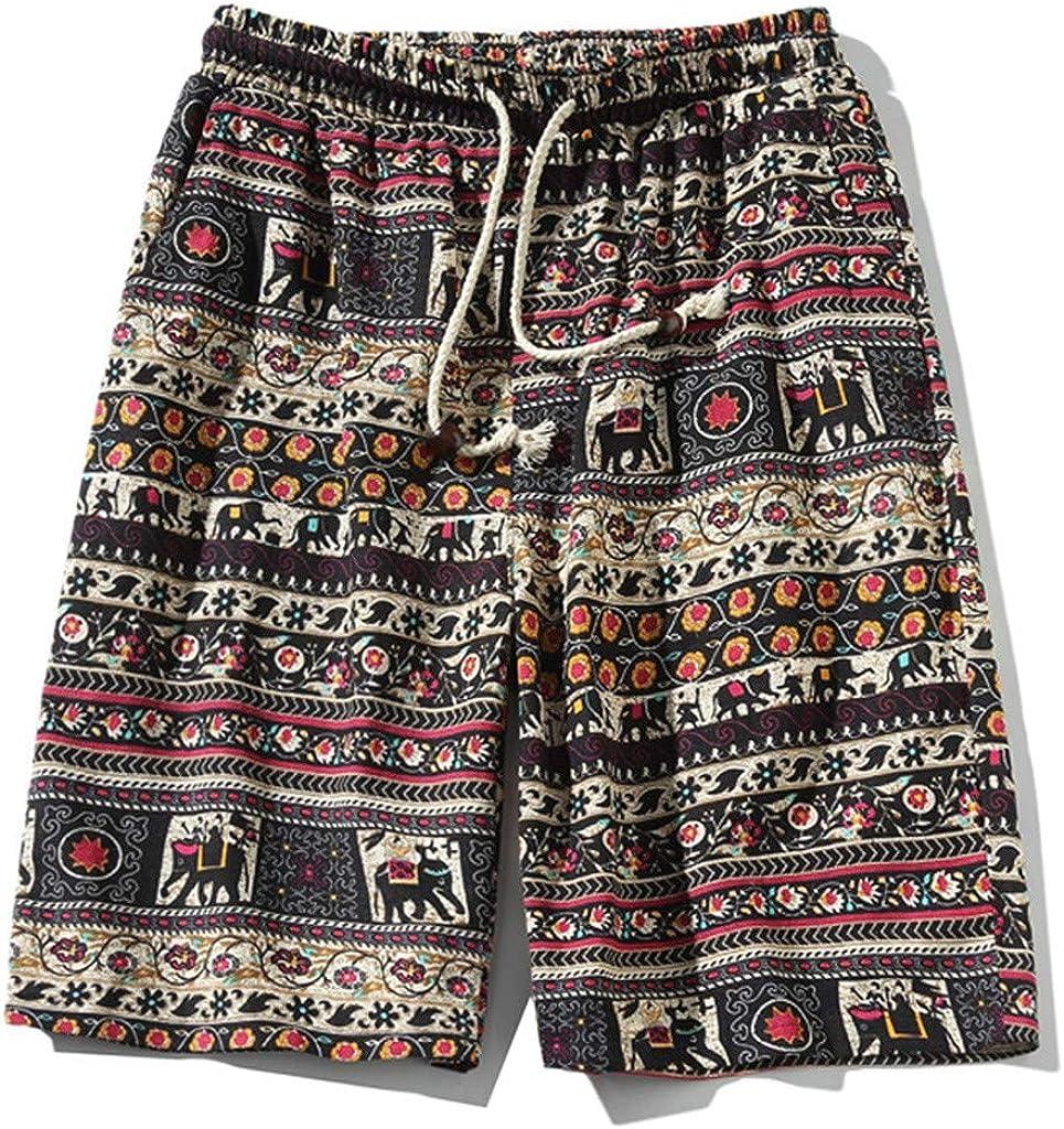 wodceeke Fashion Mens Swim Trunks Quick Dry Printed Beach Wear Shorts Mesh Lining Swimwear Bathing Suits