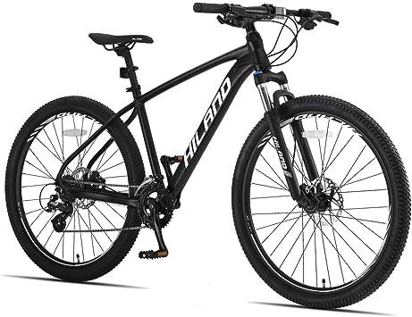 HILAND Bicicleta de montaña de aleación de Aluminio de 26 Pulgadas ...