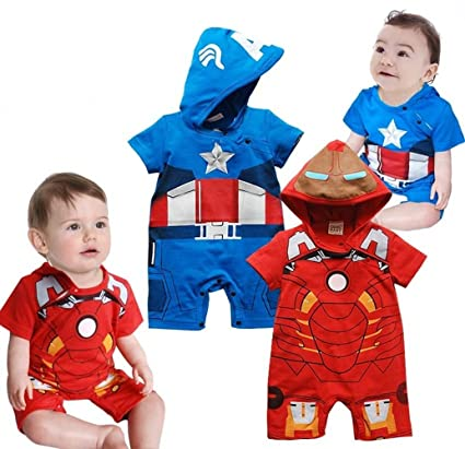 Bebé Niño Disfraz infantil de fiesta/Capitán América Ironman ...