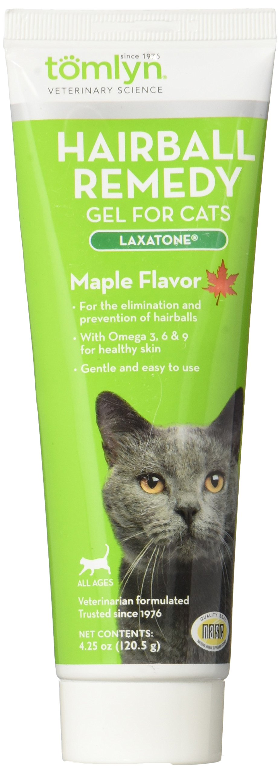 Tomlyn Hairball Remedy Maple Flavor Laxatone 4.25 oz for Cats