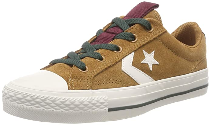 Converse Star Player Low Top Unisex Erwachsene Braun (Burnt Caramel)