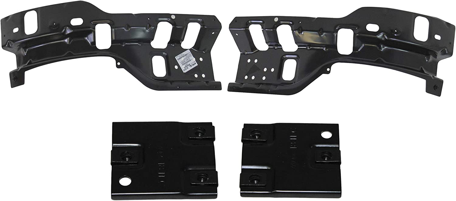 FOR 2011-2014 SILVERADO 2500HD 3500HD FRONT BUMPER OUTER EXTENSION BRACKET LH