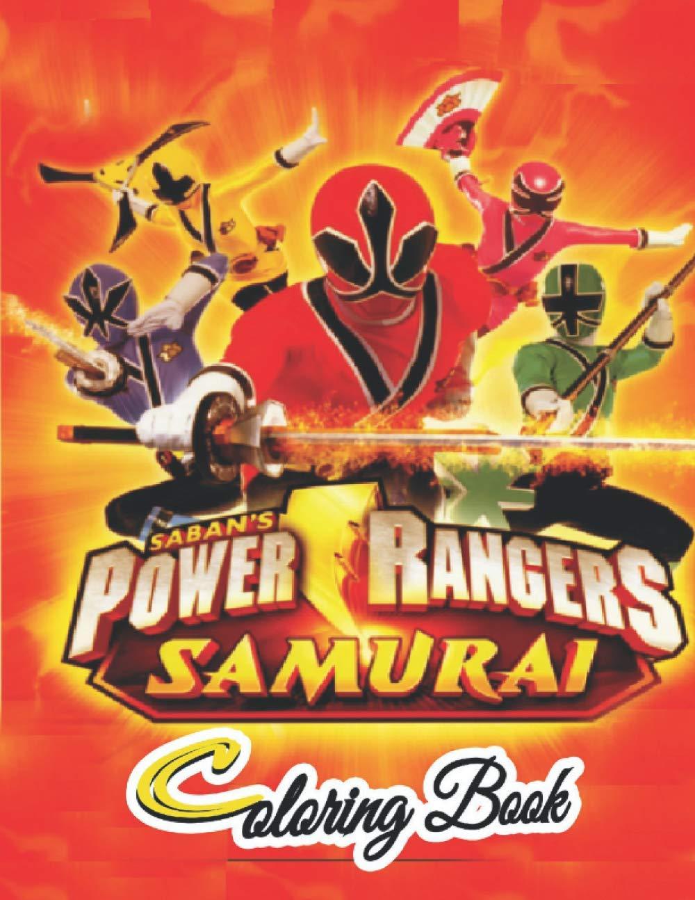 Power Rangers samurai coloring book Power Rangers Colouring Book ...