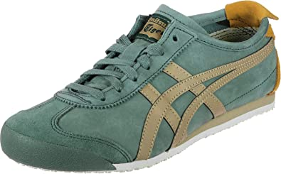907a26343bc24 Onitsuka Tiger Mexico 66 Shoes Green/Khaki: Amazon.co.uk: Shoes & Bags