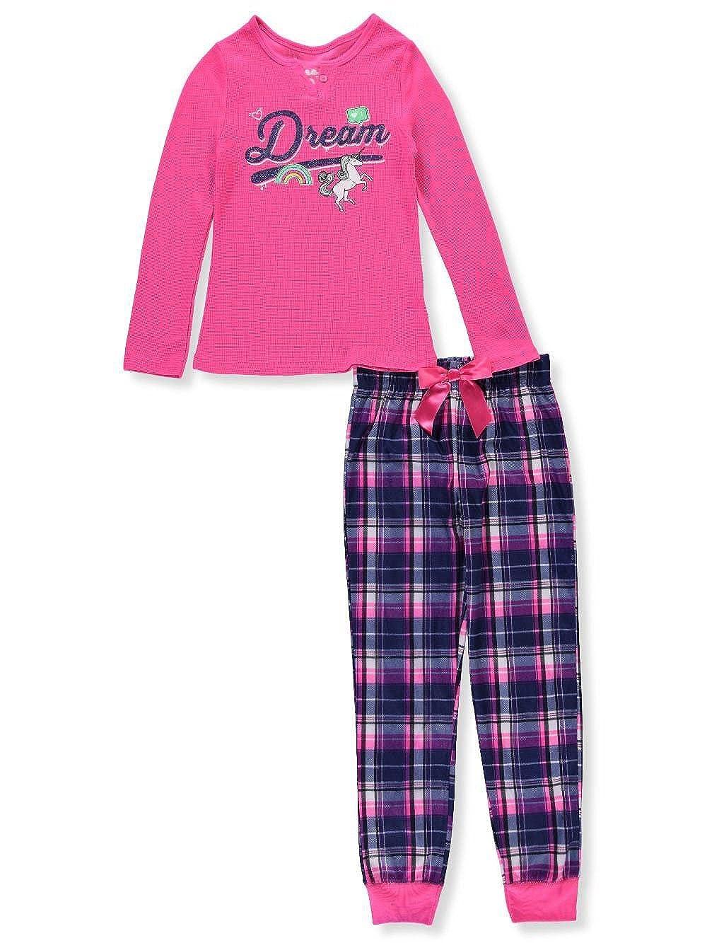 Sleep On It Girls' 2-Piece Pajama Pants Set