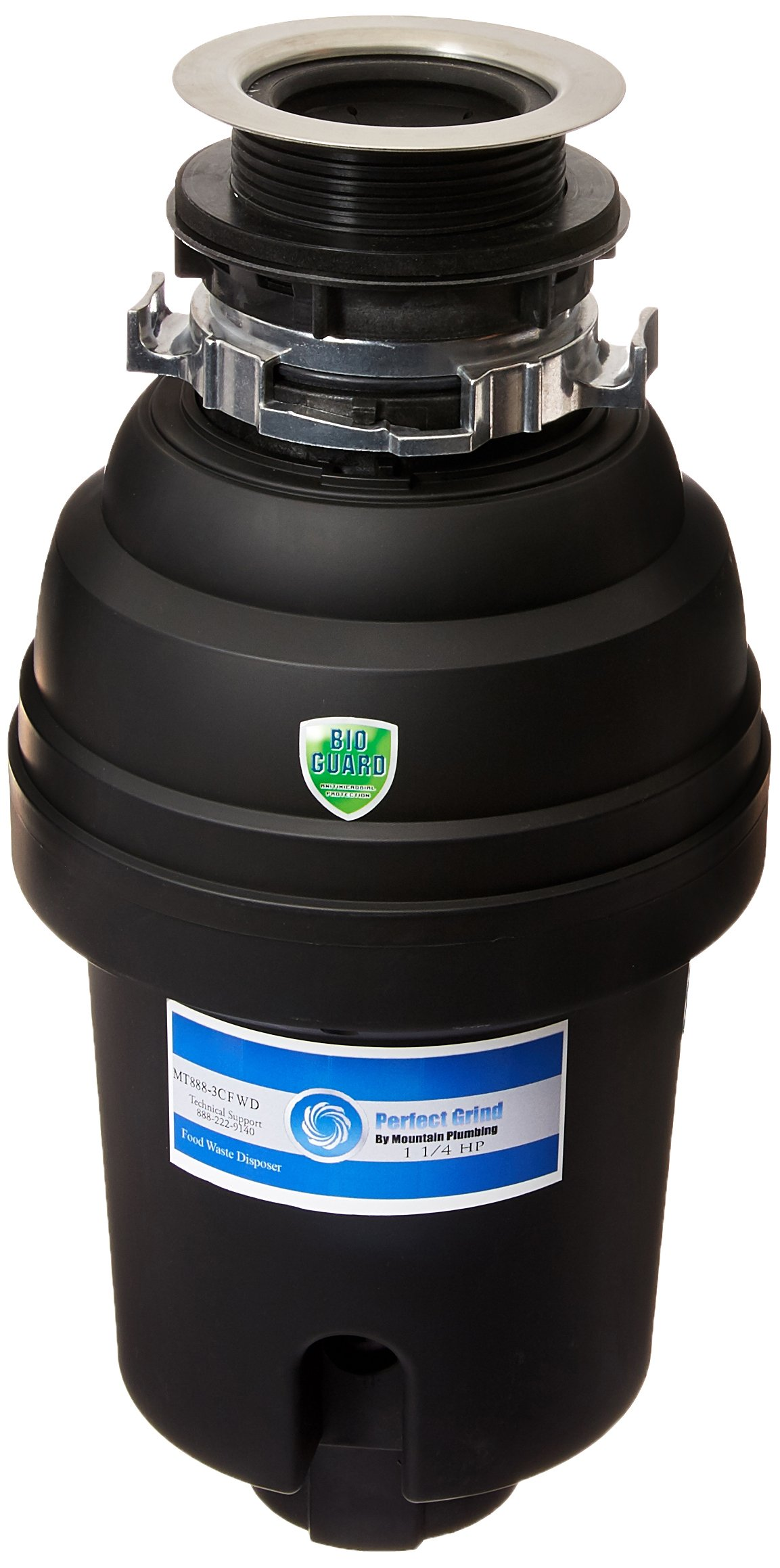 Mountain Plumbing MT888-3CFWD Perfect Grind Waste Disposer - Continuous Feed 1-1/4 Hp by Mountain Plumbing