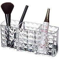 Acrylic Makeup Organizer Diamond Pattern 3 Compact Clear Cosmetics Makeup Drawer Organizer Makeup Holder Organizer For…