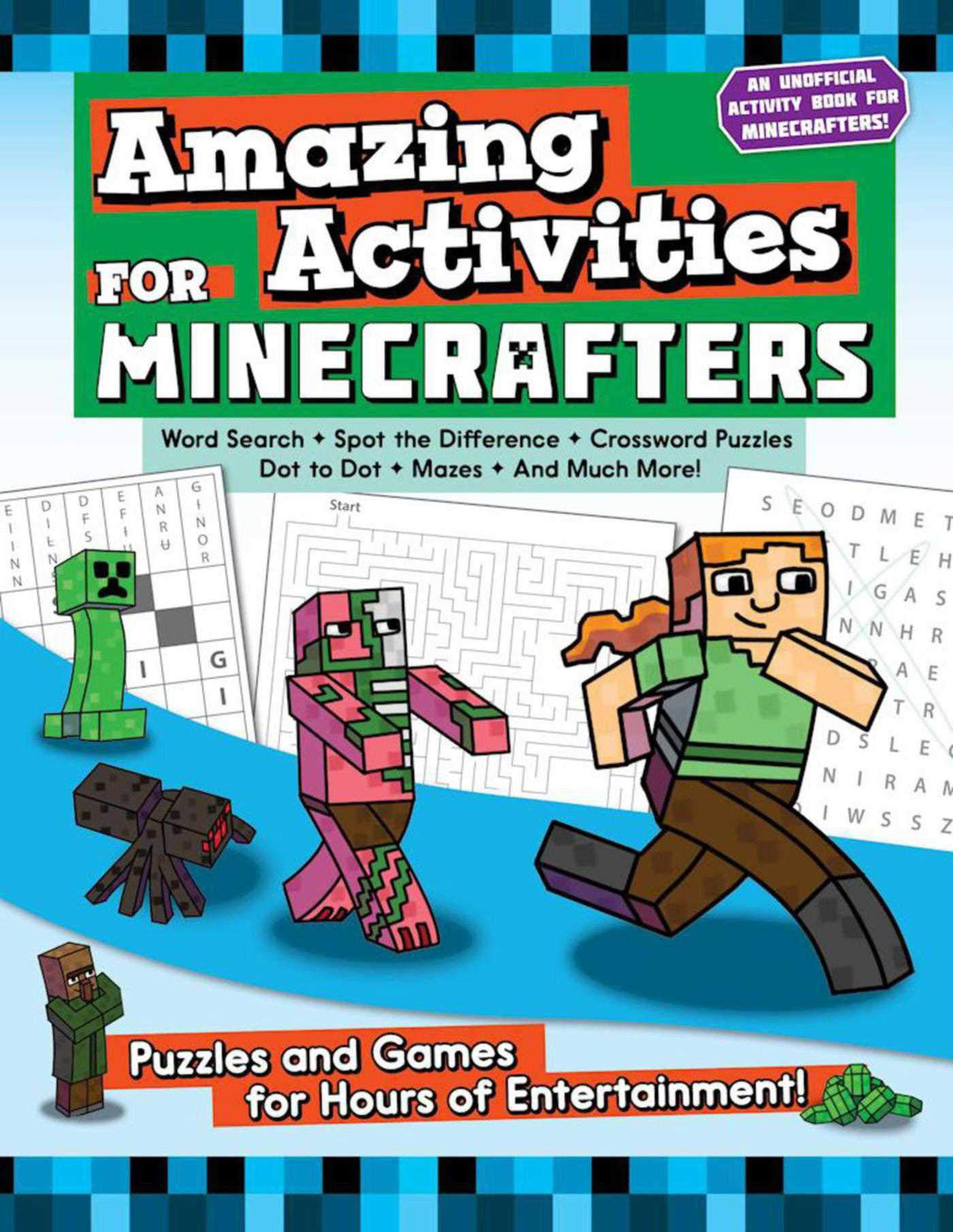 Amazing Activities Minecrafters Puzzles Entertainment product image