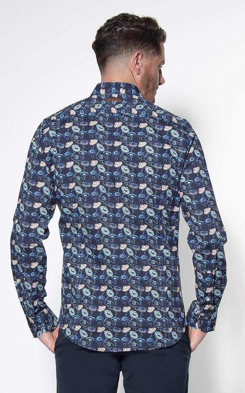 A FISH NAMED FRED Camisa Sombreros - Color - Azul Marino ...