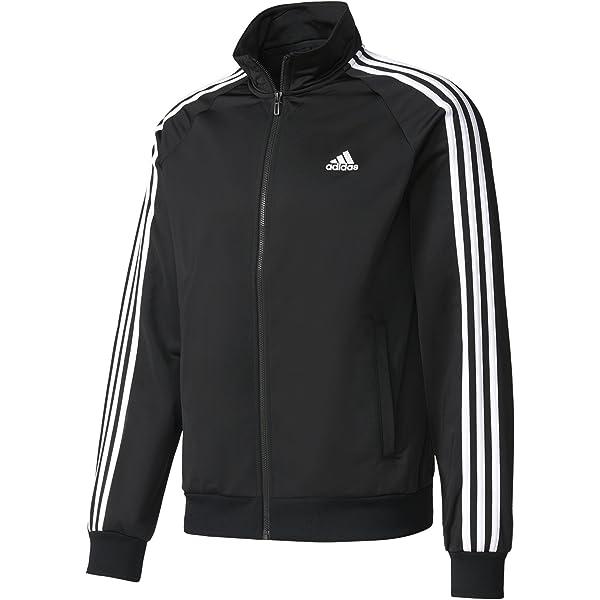 adidas Essentials 3 Stripes Tricot Track Jacket Men's Casual