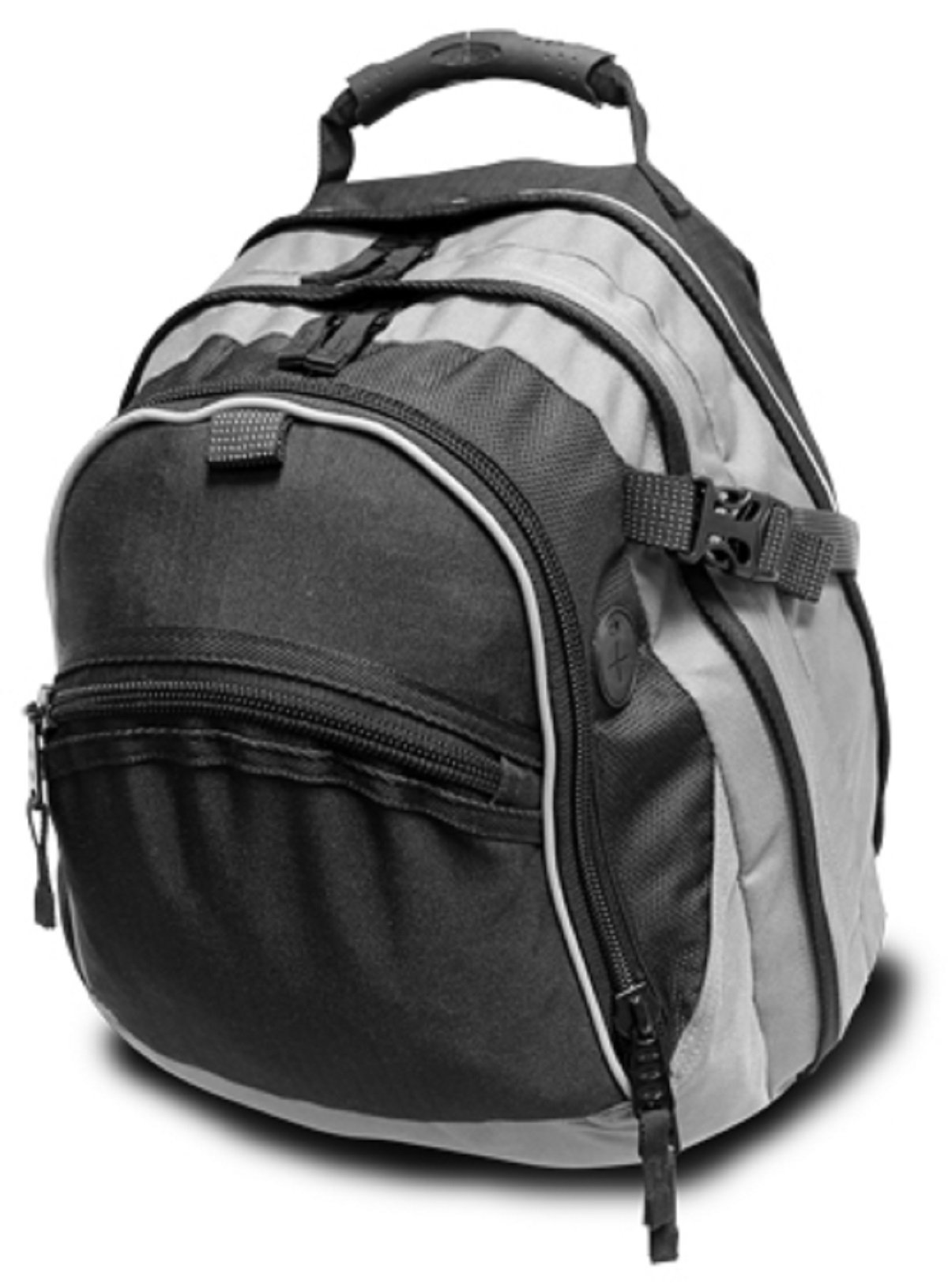 UNION SQUARE BACKPACK, Black/Gray, Case of 12 by DollarItemDirect