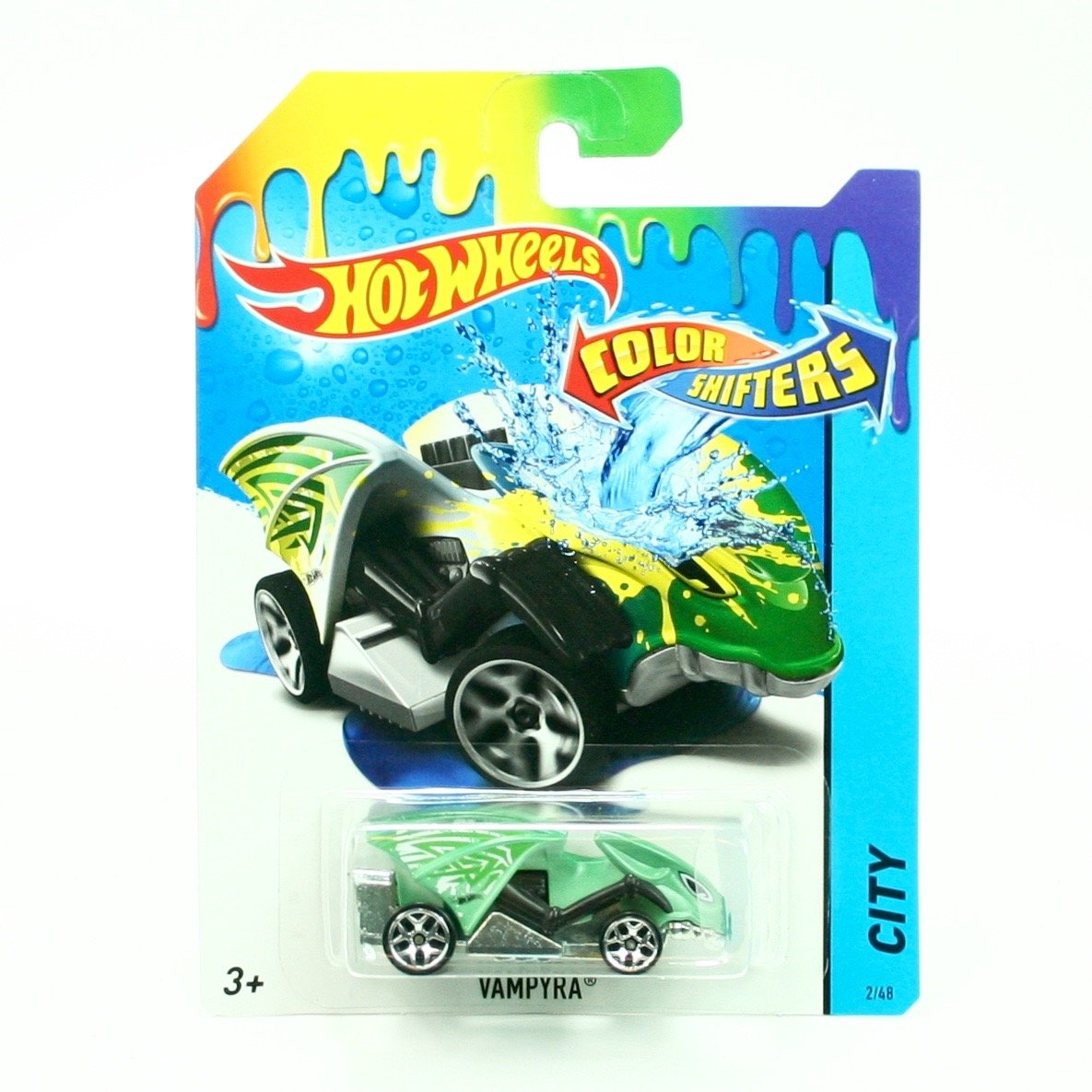 Hot Wheels City Color Shifters Vampyra Car 2/48