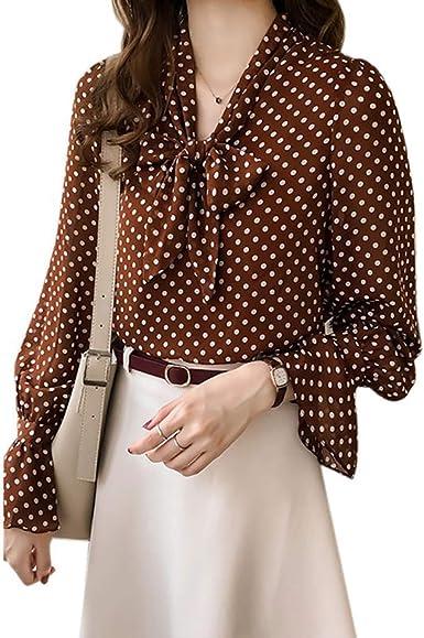 Blusas Blusas - Blusa de Manga Larga para Mujer, diseño de ...