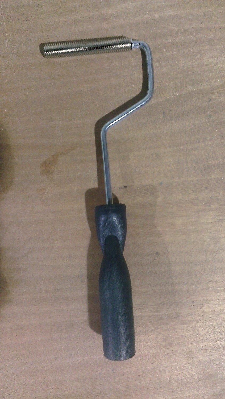 Fiberglass Laminating Roller, Bubble Buster, Aluminum Head, 1/2'' x 3''