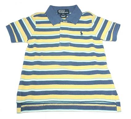 cdb4e528 Polo Ralph Lauren Boys Striped Short Sleeve Tops JK67 (24 Months): Amazon.co .uk: Clothing