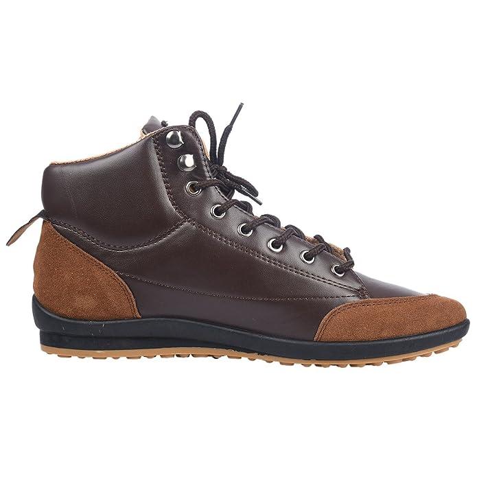 Sneakers casual marrone scuro per uomo Sodial(r) Y9Bh8W