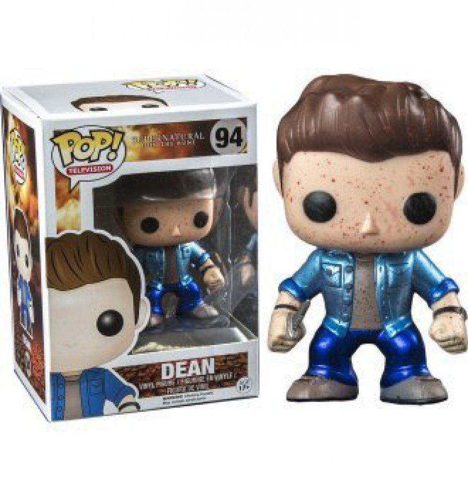 Funko Supernatural Metallic Bloodsplatter Dean Pop