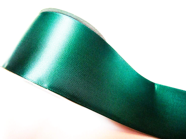 10m Satin Ribbon 50mm wide 5cm Ribbons Ribbon, Christmas ribbon CaPiSo