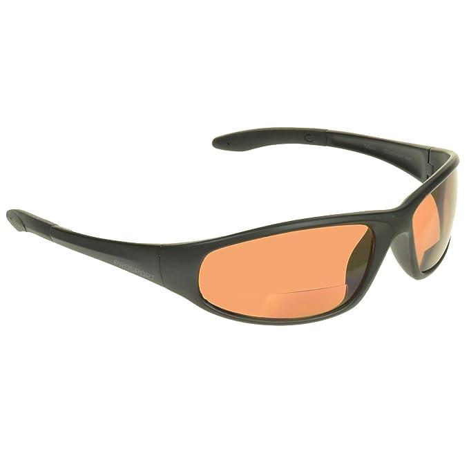 Amazon.com: Z87 Azul Bloqueo – Lupa bifocal anteojos de sol ...