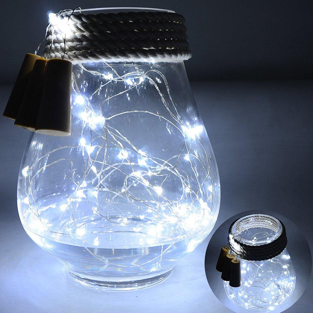 6 Stück Wein Flasche Kork Beleuchtung - 30inch / 75cm 15 LED ...