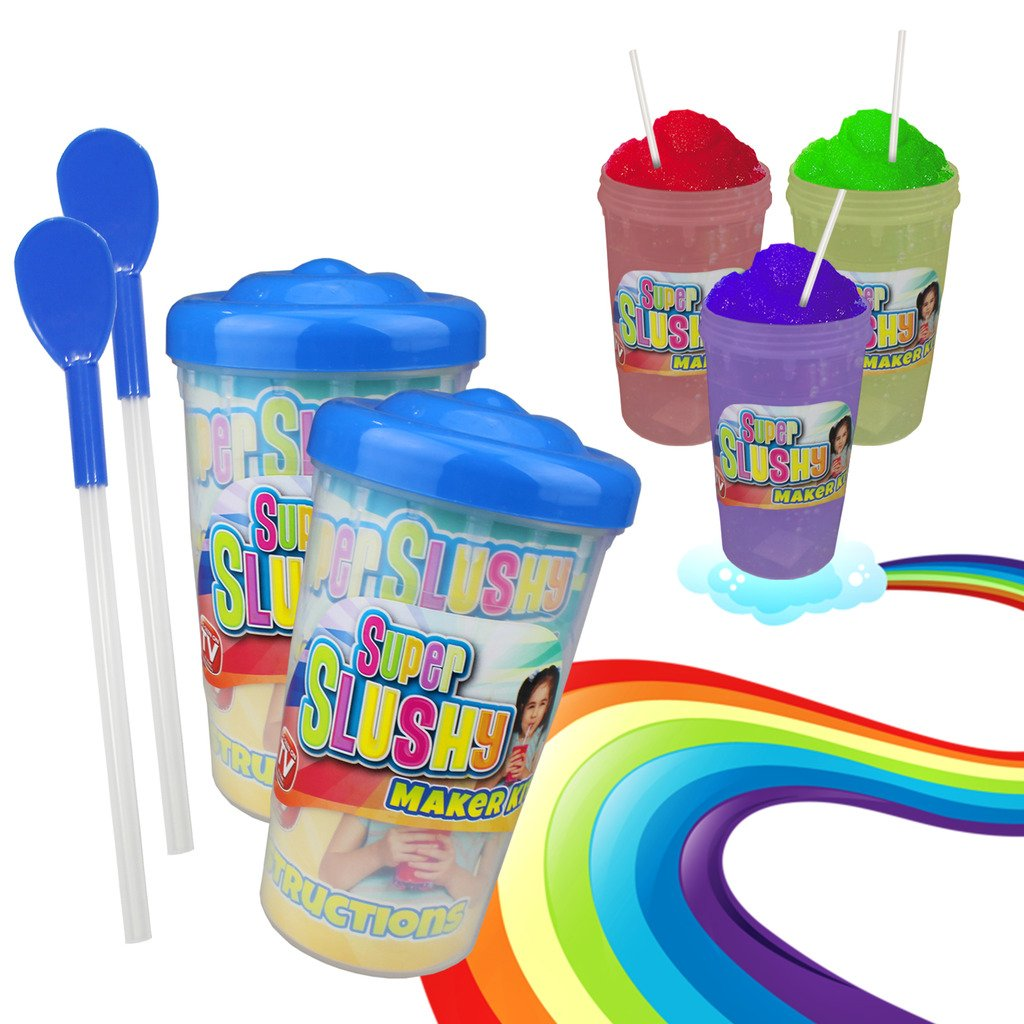 No Blenders, New Super Slushy Maker Cup Frozen Ice Drink Maker Slushie No Ice