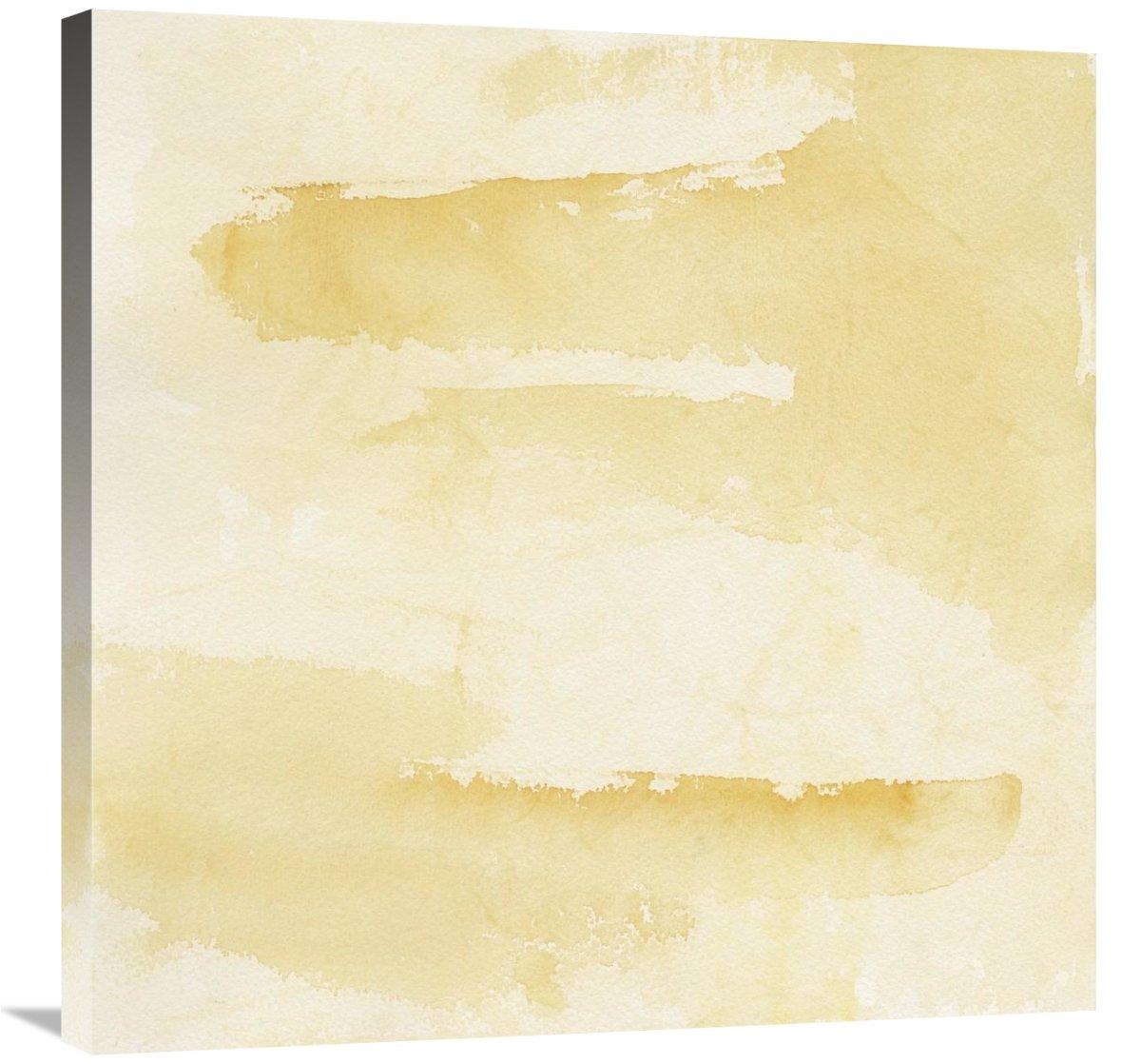 Crinkle Gold Canvas Artwork 30 x 30 Global Gallery Chris Paschke