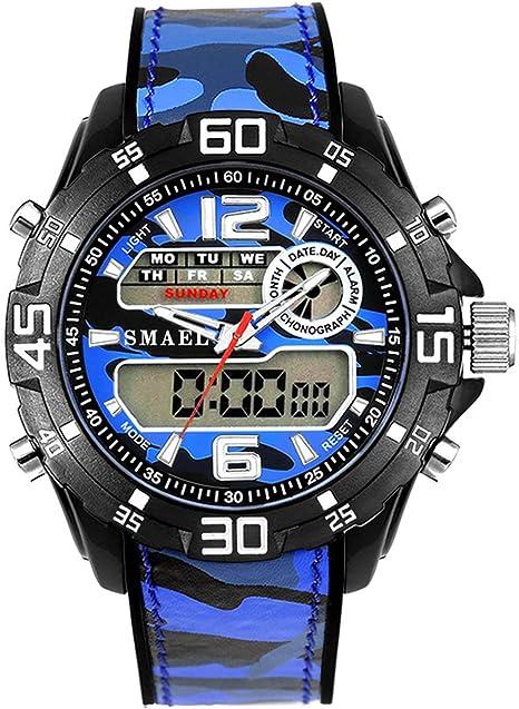 Blisfille Reloj Hombre 50 Mm Reloj de Vestir Mujer Reloj para ...