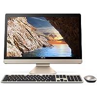 Asus V221IDUK-BA175T 21.5inch Desktop Intel Pentium J4205 Processor/4GB RAM/1TB HDD/Windows 10/Integrated Intel HD 505 Graphics/No ODD (Black, Gold)