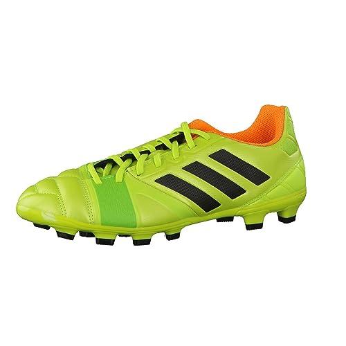 outlet store 51aa1 c36e2 adidas Nitrocharge 3.0 TRX HG, Bota de fútbol, Solar Slime-Solar Zest,