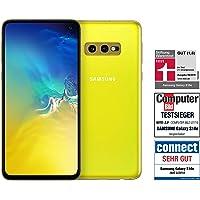 Samsung Galaxy S10e Smartphone (14.7cm (5.8 Zoll) 128GB interner Speicher, 6GB RAM, Dual SIM, Canary Yellow) Deutsche Version