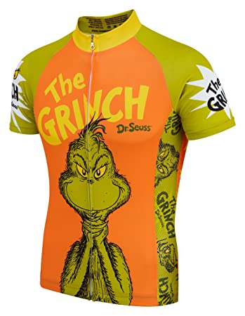 Summit Different - Dr Seuss - The Grinch Cycling Jersey - Mens Short Sleeve dbee470f1