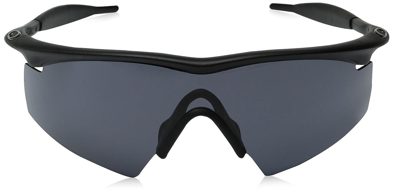 24180307930d9 Amazon.com  Oakley M Frame Strike Ballistic Sunglasses   Matte Black   Grey  Lens   11-162  Oakley  Clothing