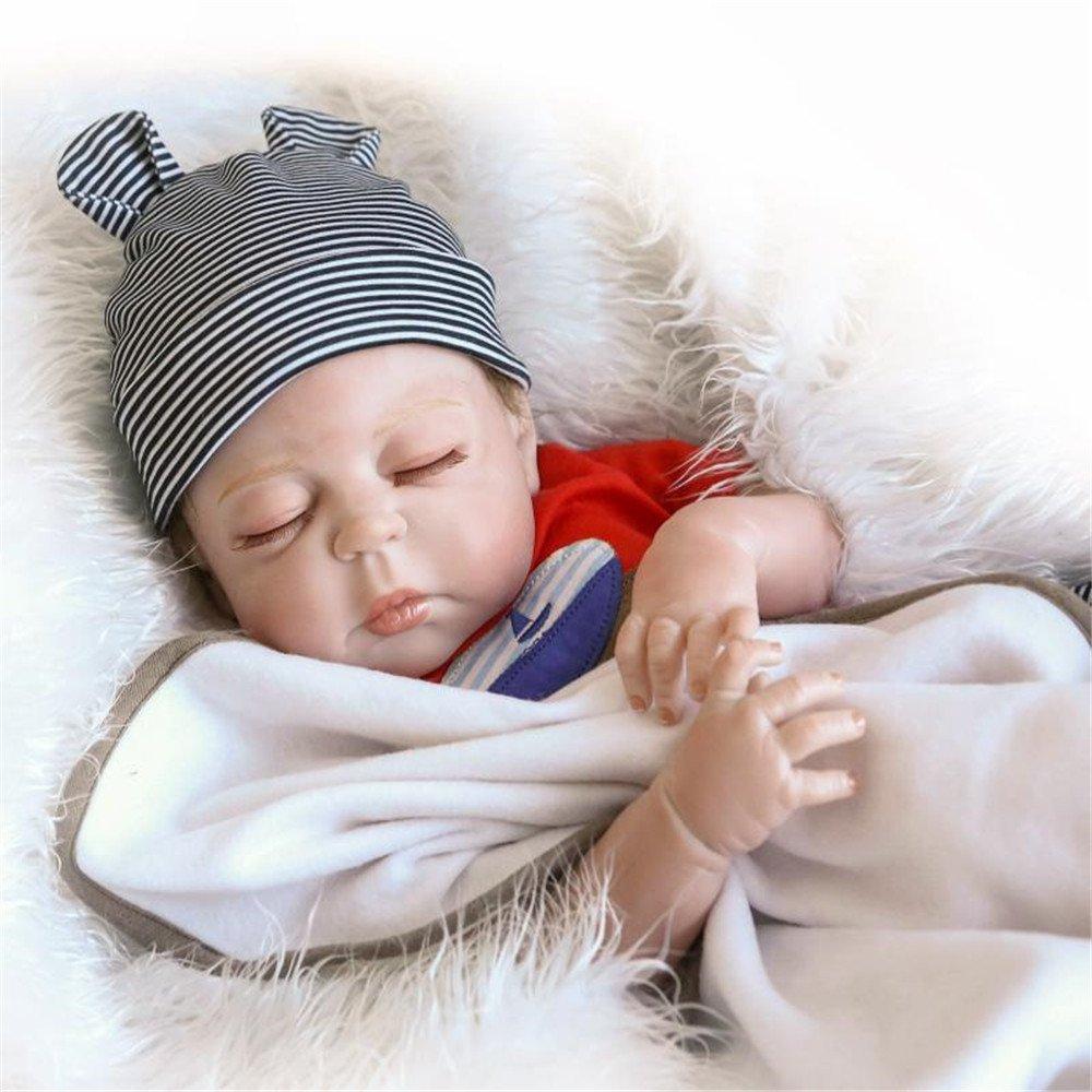 Amazon.com: 23-inch 22.4 inch muñeca de bebé recién realista ...