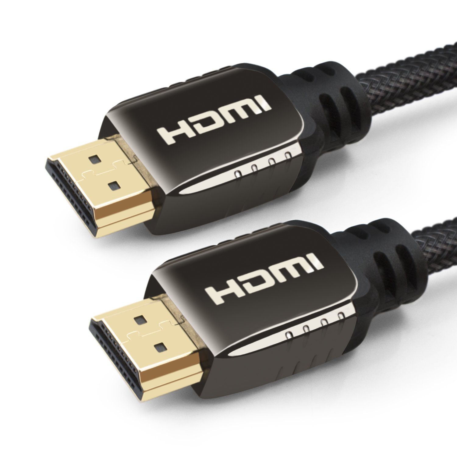 Cable HDMI 7,5M - HDMI 1.4 / 2.0 a/b - Ultra HD 2160p (4K) / Full HD 1080p - Cable de alta velocidad con 3D, Ethernet y Canal de Retorno de Audio (ARC) - Blindaje triple y nylon